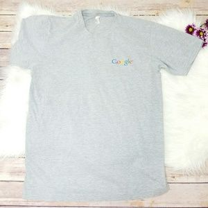 Google Gray Diversity Day Short Sleeve Tee Shirt